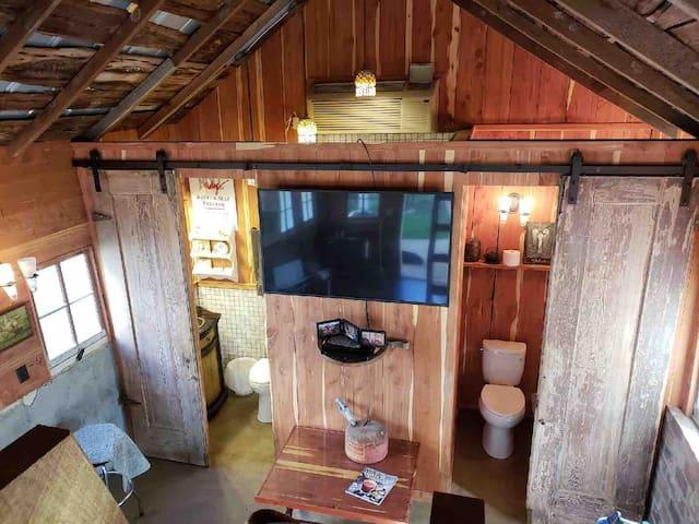 Everhope Plantation - Rustic Loft (Pecan Shelling House)