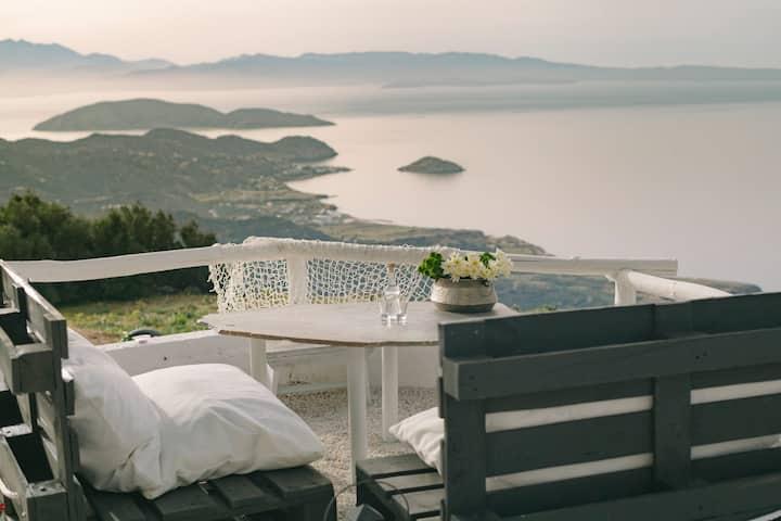 Epavlis - Panoramic Seaview from Mirsini village