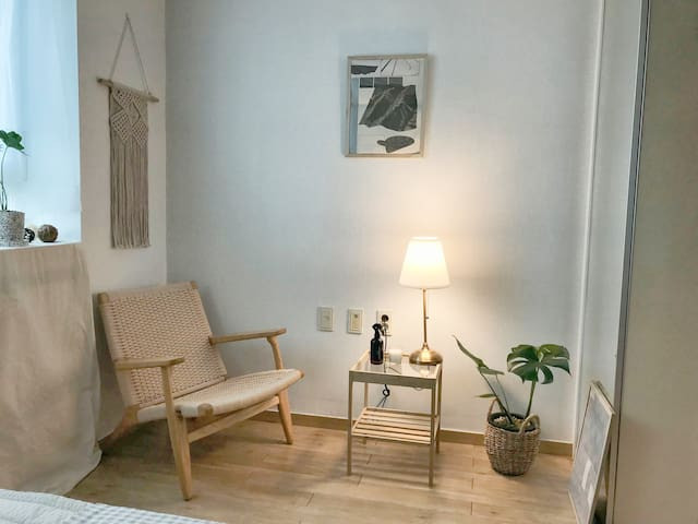 Cozy & Clean a private room [ 1 min - SNU Station]