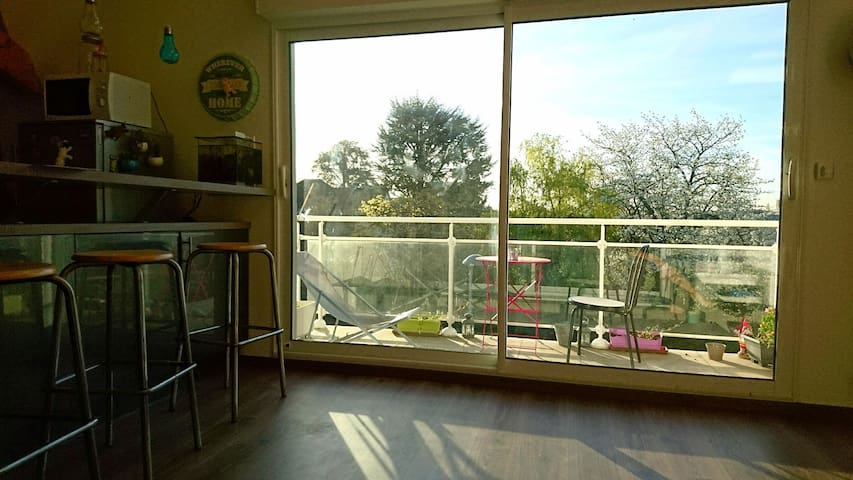 Duplex 80m2 Proche Paris - Eaubonne - Apartment