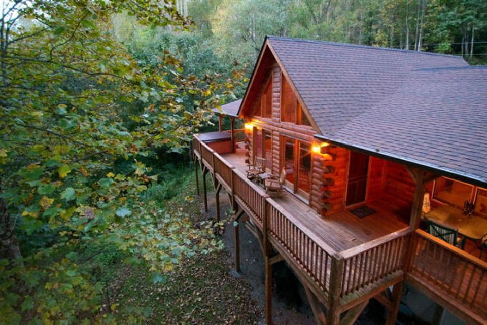 Exceptionnel Eagleu0027s Nest   Cabins For Rent In Sylva, North Carolina, United States