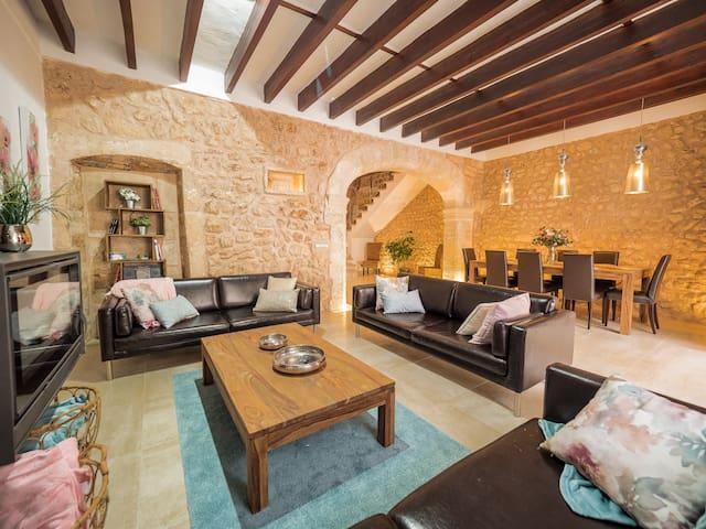Ca's Mercader ¤ Preciosa casa con piscina