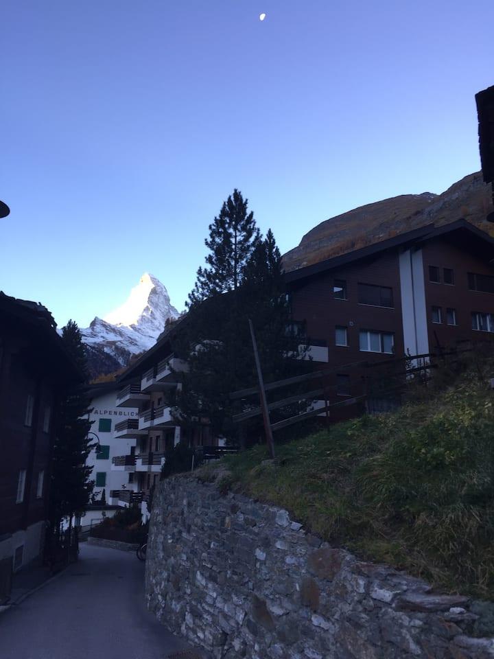 Moderne Wohnung im Herzen von Zermatt
