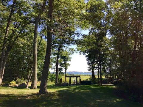 Beaches, Gardens & Sublime Peace on Private Estate
