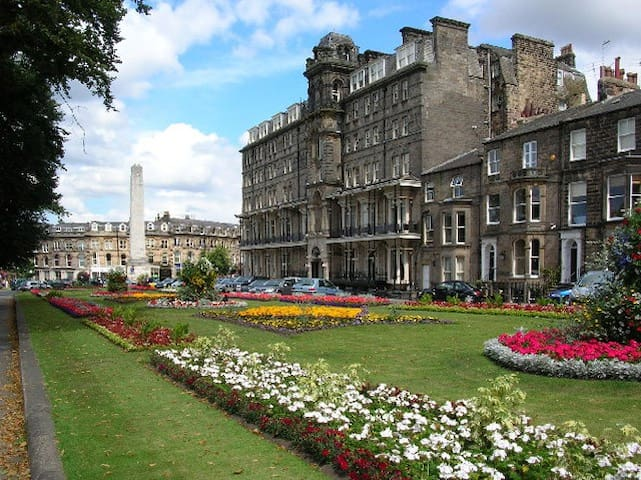 Central luxury convenient one bed apartment - Harrogate - Leilighet