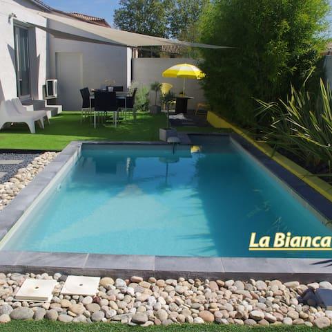"Villa contemporaine ""La Bianca"" - Claret - Villa"
