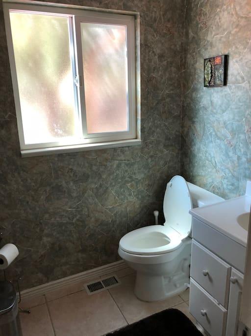 Bathroom off Living Rm