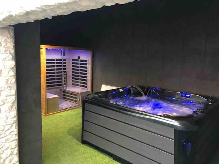 Maison Spa et Sauna à 10 min de La Rochelle