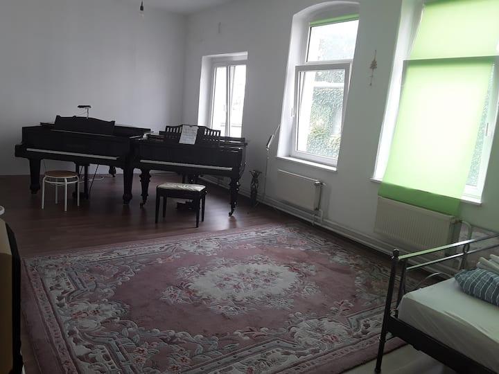 Grosses Zimmer in Musikschule
