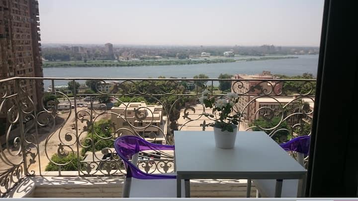 Maadi Luxury Nile Apartment