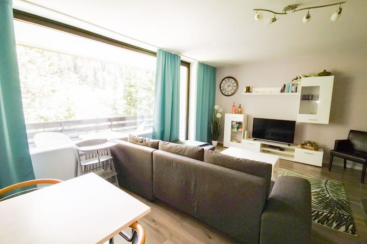 Luxury flat in Winterberg, adjacent to the golf course and skiing area