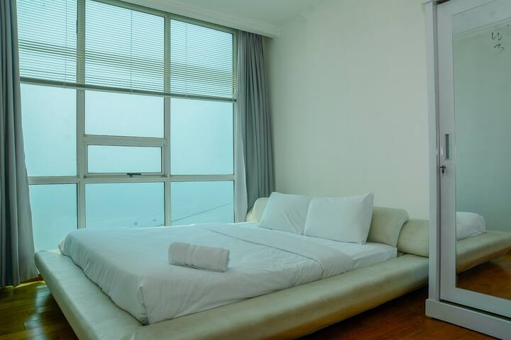 Big and Cozy 2BR Ancol Mansion Apartment