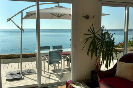 Maison face à la mer - Pointe des Espagnols