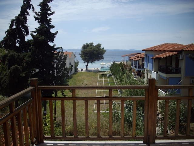 Cozy,sea view apartment - Halkidiki - Appartement