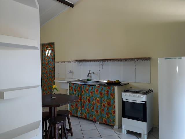 Loft aconchegante e rústico em Cabrália - Bahia