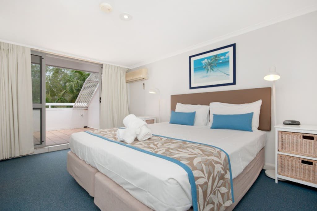 large airy bedrooms