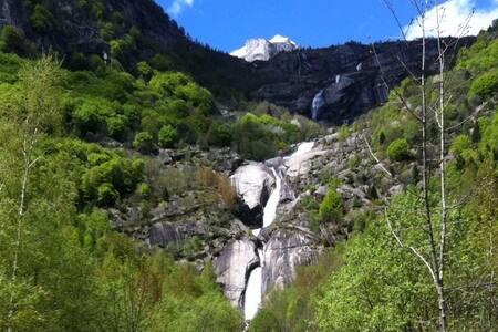 Le Cascate Val di Mello - Val Masino - Cabaña