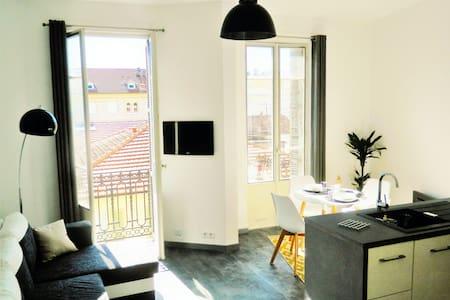 "Petit  NICOIS 300metres de la ""prom"" - Nizza - Wohnung"