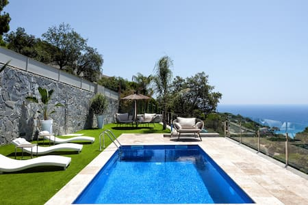 Luxury with private beach views