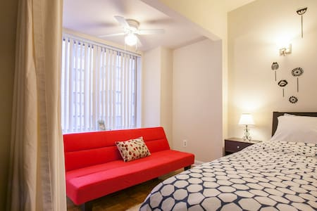 Heart Of DC ❤️ Cozy Private Studio - Washington - Apartment