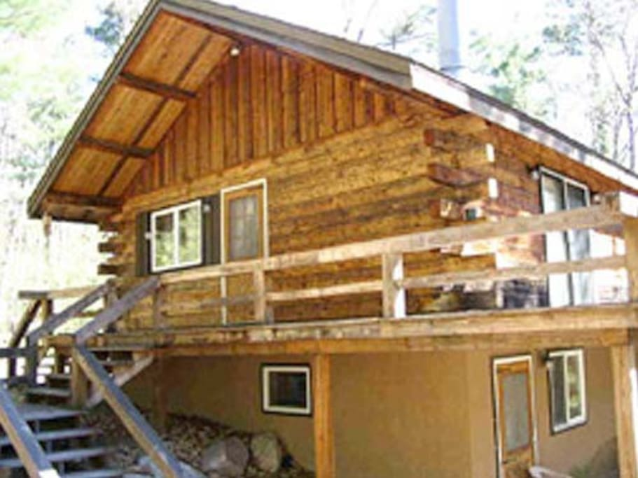 Scenic Point Retreat Log Cabin Cabins For Rent In Jay