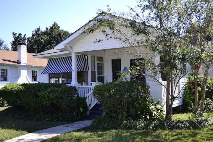 Precious Cottage, Near Beach, Park! - Gulfport - Dom