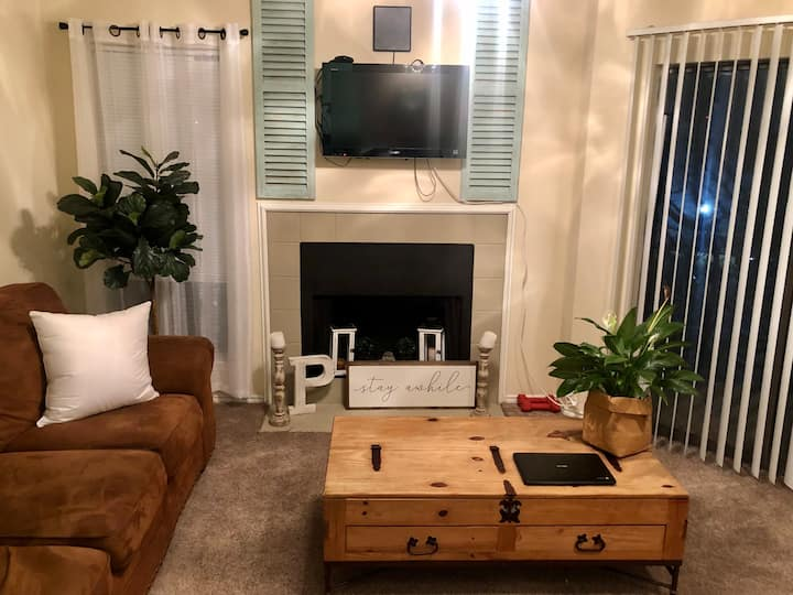 ENTIRE one bedroom apartment near Addison, TX!!