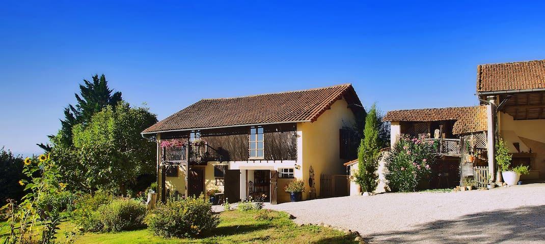 Motorradgästehaus Maison Vue Pyrenees DZ Balance