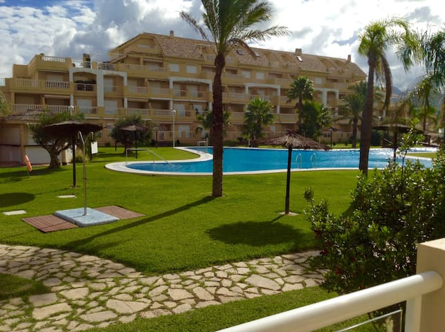 Apartment in front of the beach!!! - Dénia - Lägenhet