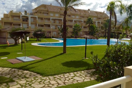 Apartment in front of the beach!!! - Dénia - Pis