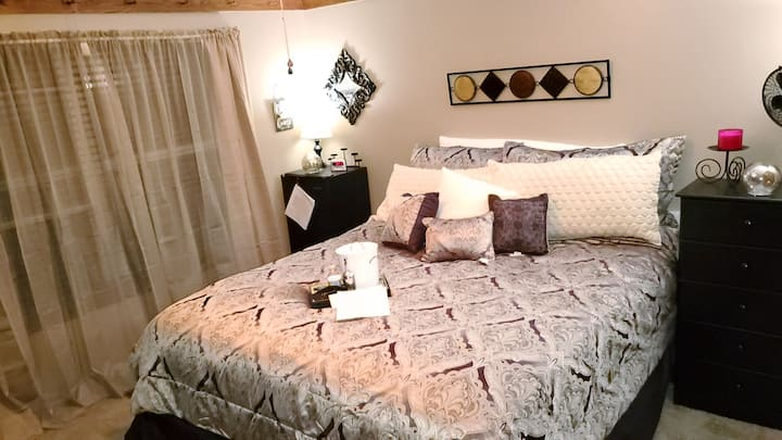 California king bedroom newer home in Troy