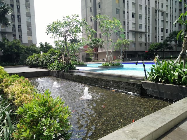 WIFI+3 min to Seaview Mall 2BR - Penjaringan - Flat