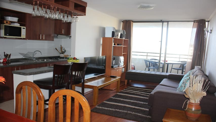 Maravilloso Departamento Reñaca con vista al Valle - Viña del Mar - Apartment