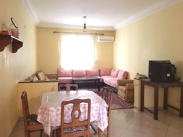 Loue appartement à Agadir à 10 min de la plage