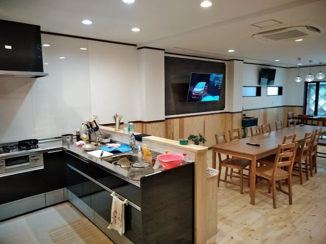 Just 5min from Beppu Station!Our main Guesthouse!!