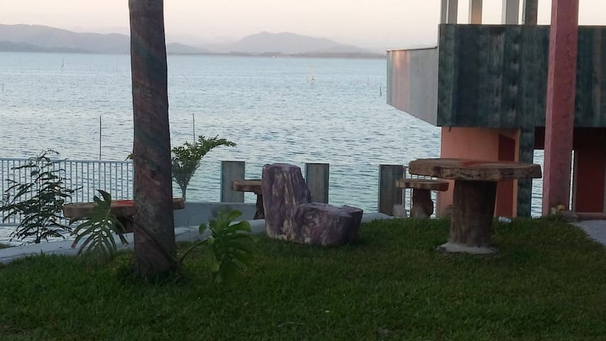 Quarto  01 frente  Lagoa Guaúba  Imbituba