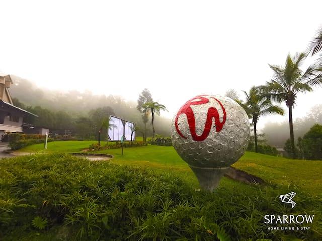 Awana Resort Premium Suite| Golf, Cafe, Restaurant