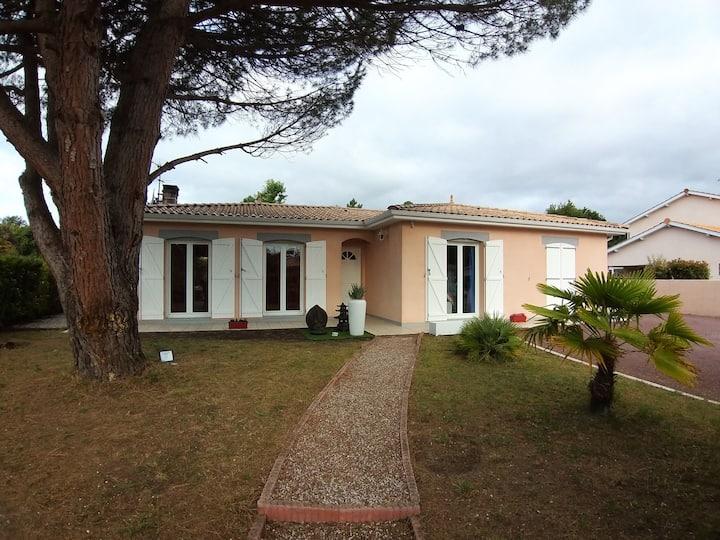 Maison familiale proche Bassin et Bordeaux