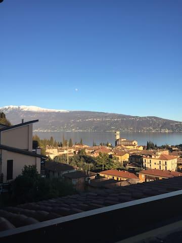 Haus am Garda See mit wunderschönen Blick - Toscolano Maderno - Apartemen