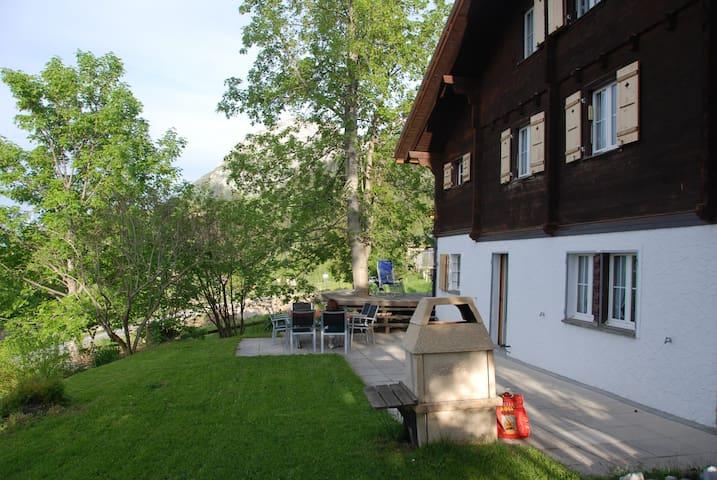 Chalet Oltschi, Axalp - Brienz - Ev