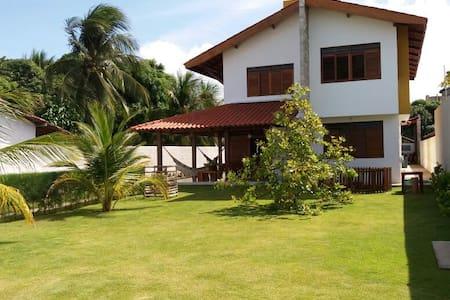 Excelente Casa Beira-Mar - 5 quartos (p/ Carnaval) - Lucena