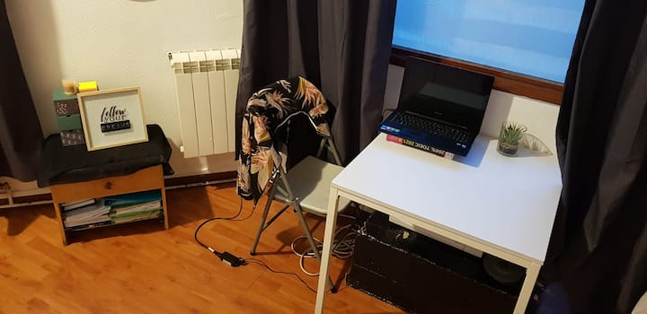bon séjour au studio de valenciennes :)