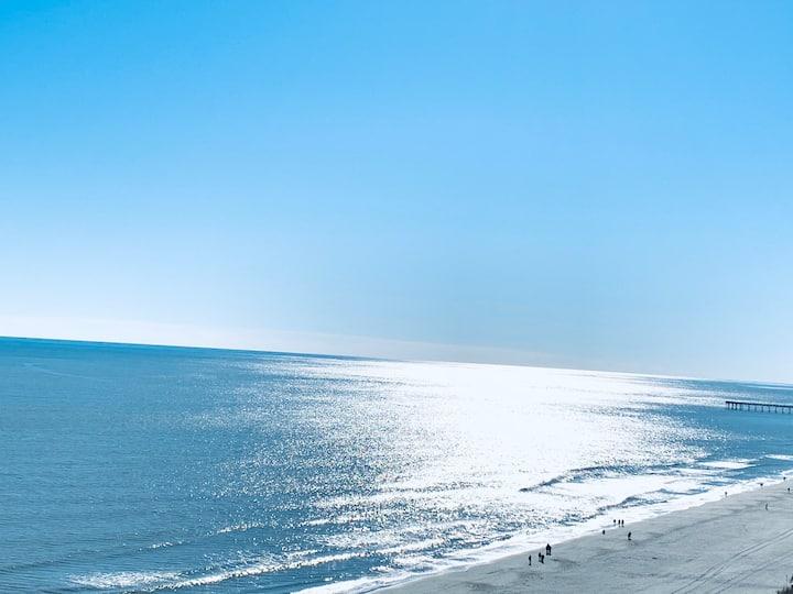 Sand Castle Resort #14, Gorgeous Oceanview