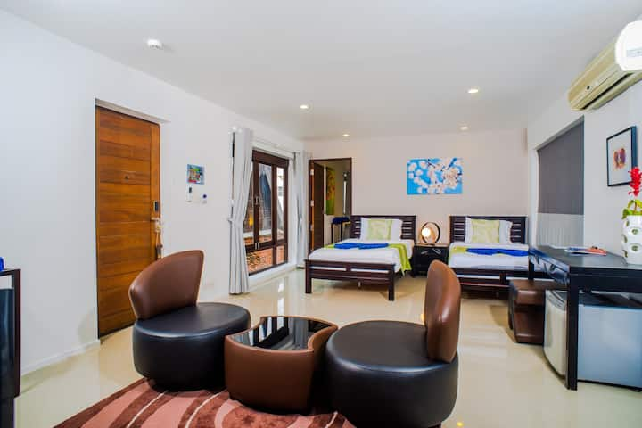 Family Suite at Award-Winning Beachfront Hotel