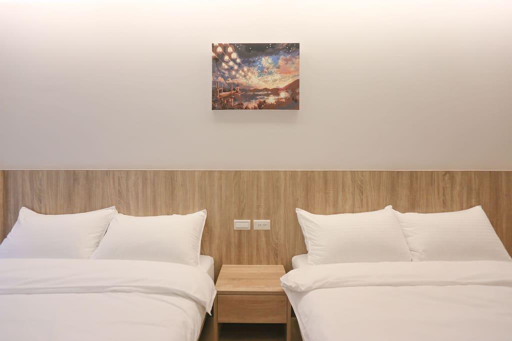 漫城雙床房 Room