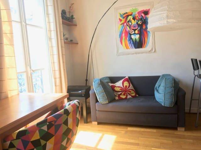 Appartement 14eme charmant et lumineux