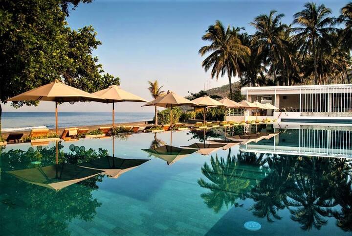 Living Asia-A Beachfront resort @Garden view room