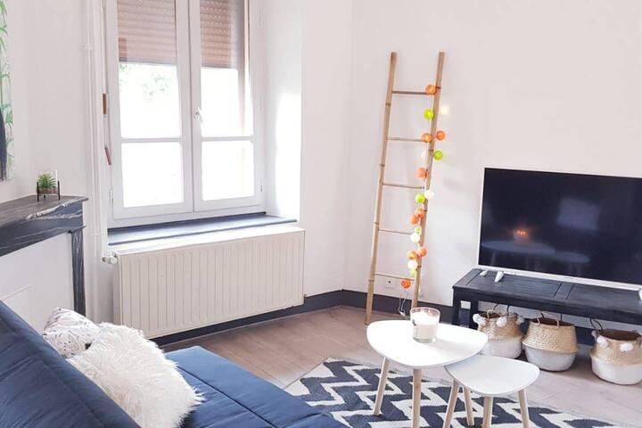 Appartement refait à neuf proche du Moulin Liron