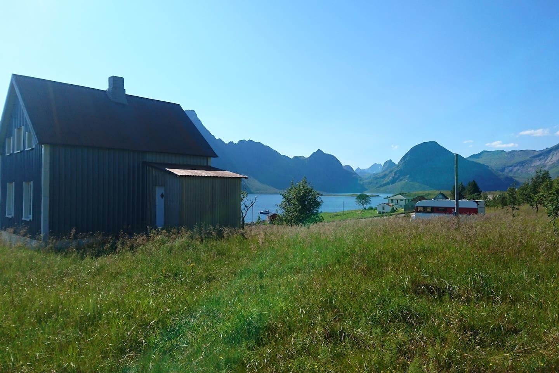 Utsikt over Selfjorden