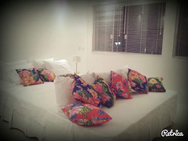 Apartamento inteiro para casal